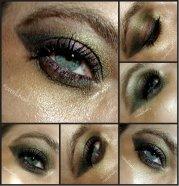 messy eye