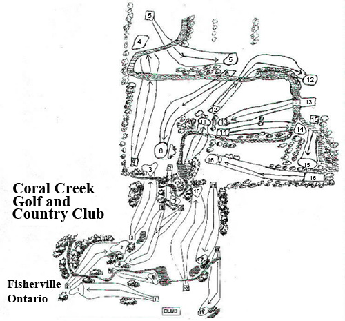 Coral Creek Golf Course,Fisherville, Ontario
