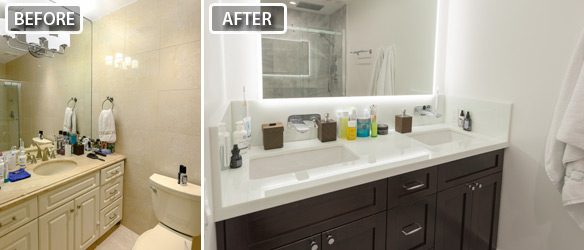 bath and kitchen organic utensils miami bathroom remodeling in before after picture of beach remodel