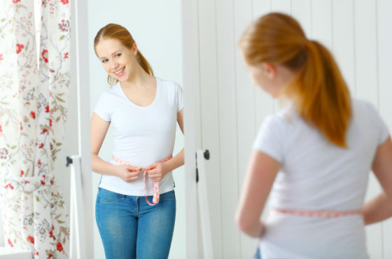 При очищении кишечника объемы талии также уменьшаются