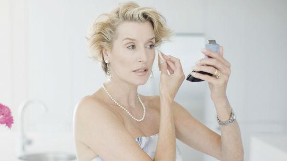 Возрастной макияж для светловолосых