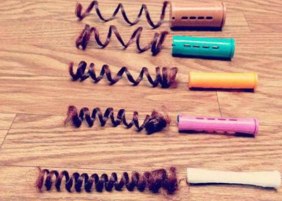Варианты бигуди для создания разного типа локонов