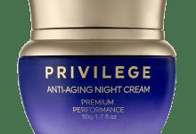 Photo of Privilege Крем для лица и шеи омолаживающий ночной