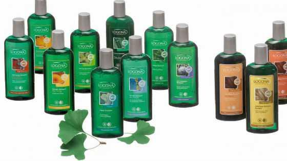 Бессульфатные средства для мытья разного типа волос Logona