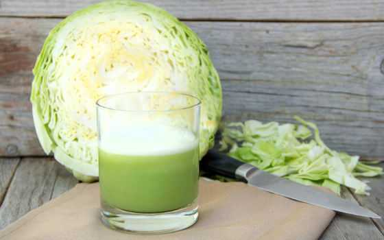 Капуста и капустный сок