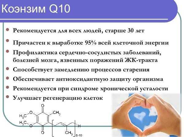 коэнзим q10 польза