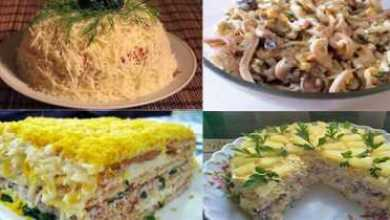 Photo of 10 самых удачных и вкусных салатов для новогоднего стола!