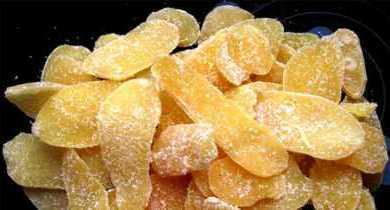 имбирные цукаты – перестала покупать конфеты, когда узнала этот рецепт