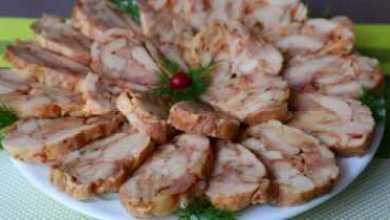 Photo of Лучшая мясная закуска за считанные минуты без желатина Вы забудете о колбасе!