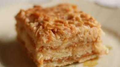 Photo of Болгарский яблочный пирог или пирог «3 стакана» . Просто наслаждение