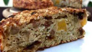 Photo of Очень легкий, диетический пирог из овсянки без муки и сахара. это стоит приготовить.