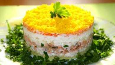 Photo of Диетический вариант любимого салата «Мимоза» с тунцом