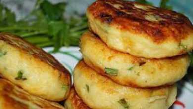 Photo of Картофельные биточки с зелёным луком и сыром — супер рецепт