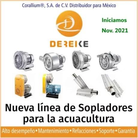 DEIREKE Sopladores y Aireadores Acuacultura