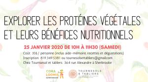 Explorer les protéines végétales et leurs bénéfices nutritionnels avec Cora Loomis Nutritionniste