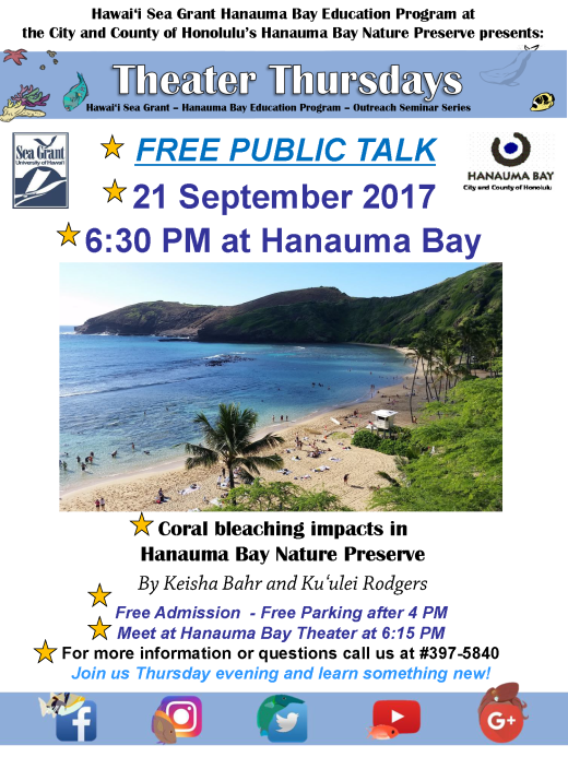 Hanauma Bay flyer
