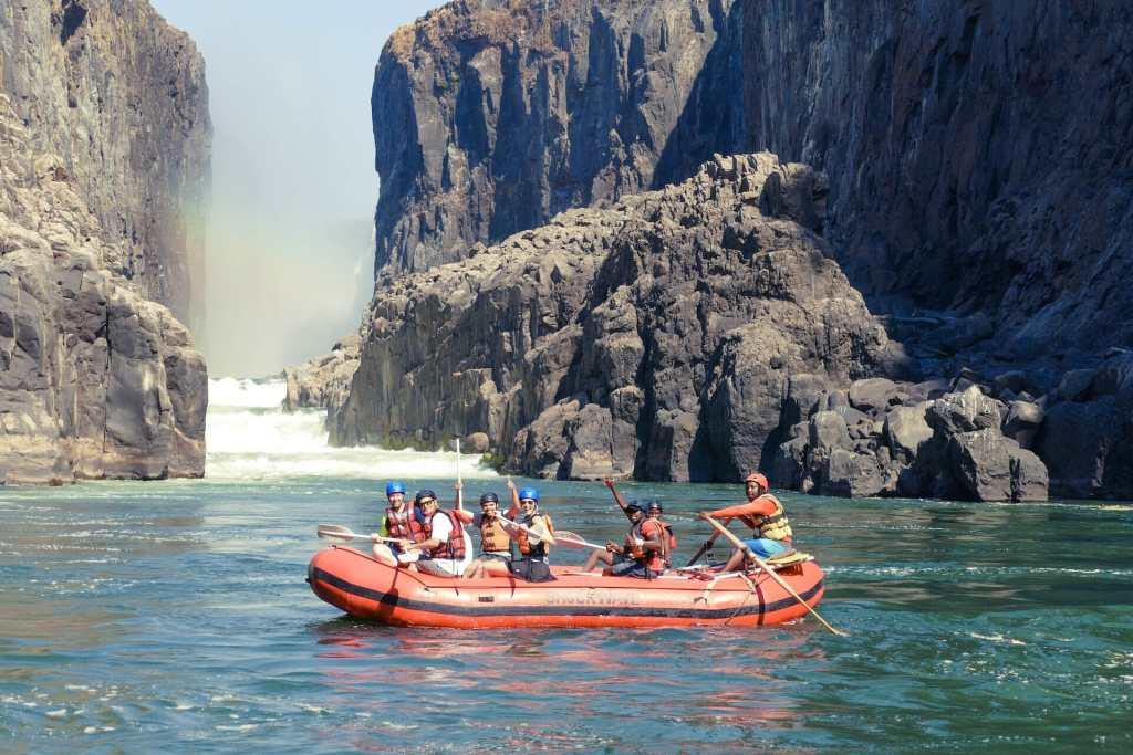 zion rafting