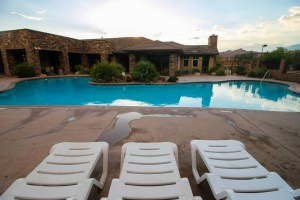 poolside resort st george