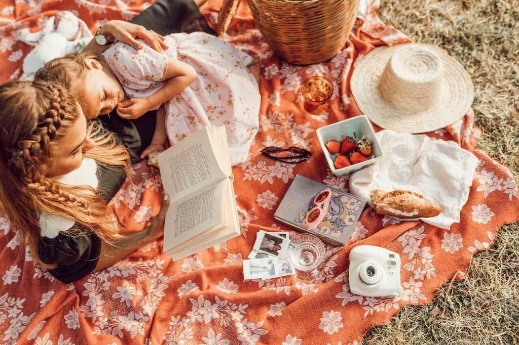 picnic at Zion national park