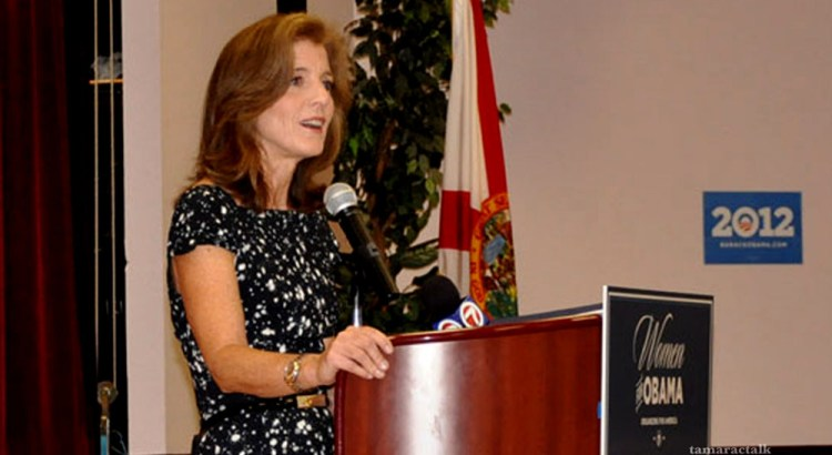 "Caroline Kennedy Packs the House for ""Women for Obama"" Event in Broward"