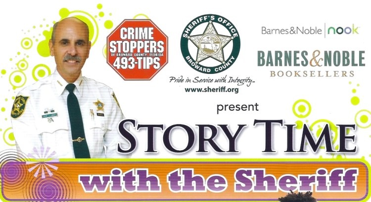 Story Time with the Sheriff at Barnes & Noble March 24th