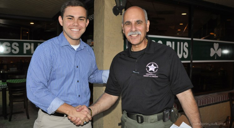 Sheriff Lamberti in Final Stretch To Get On The Ballot By Petition