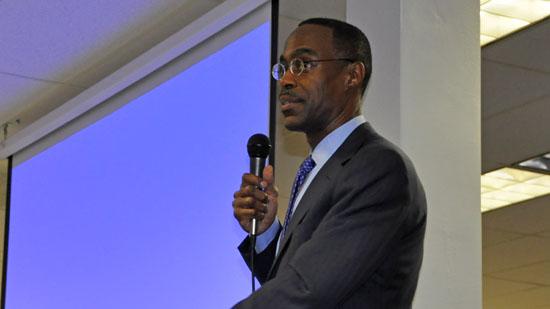 Superintendent Visits JP Taravella To Discuss Future of Broward Schools