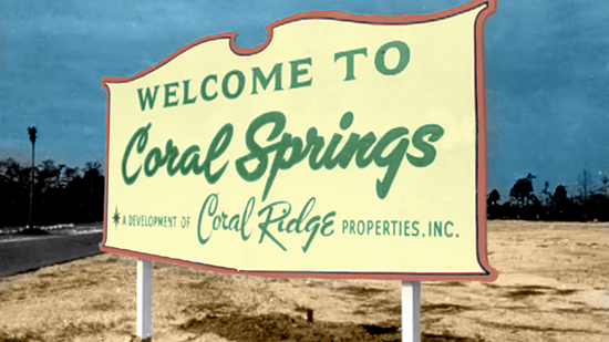 Heeere's Coral Springs:  Our City, Our Story