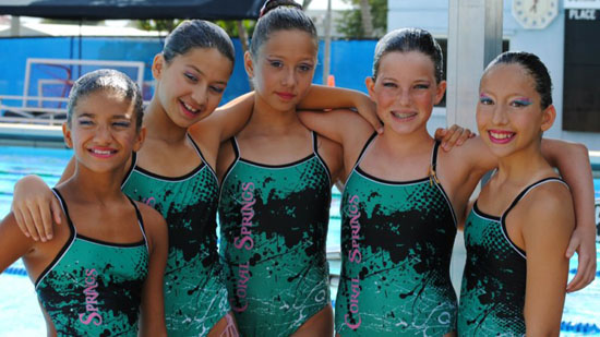 Coral Springs Aquacades Synchronized Swimmers Offers a Free Class May 19th