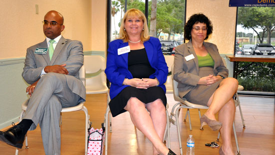 Judicial Candidates Speak at the Coral Springs / Parkland Democratic Club