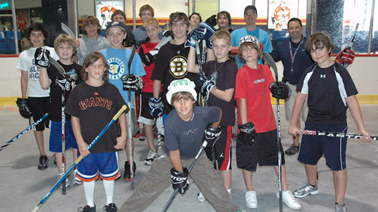 Hockey Training Camp for Kids and Teens held at the Saveology Iceplex August 6
