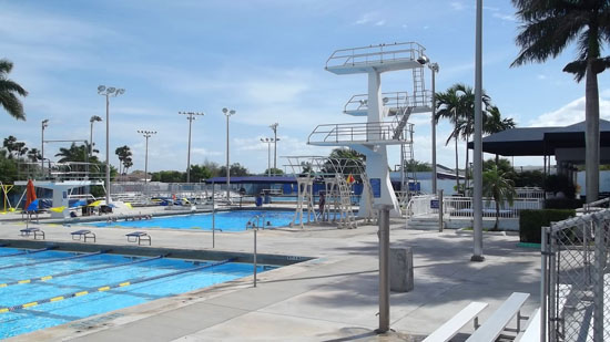 National Swimmers and Divers Escape the Cold Weather to Train in Coral Springs