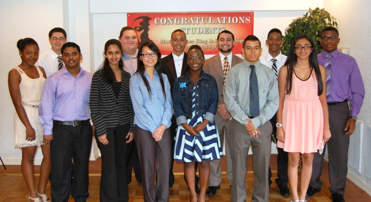 Coral Springs City Commission Awards MLK Scholarship Winners