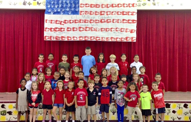 Riverside Elementary in Coral Springs Celebrates Freedom Week