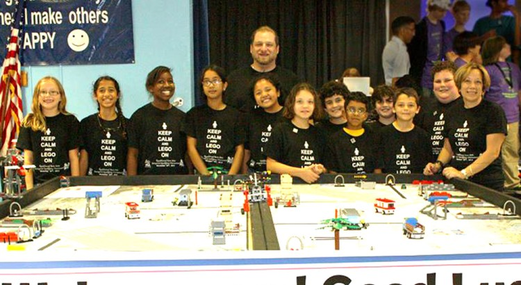Ramblewood Elementary Place Second in Lego Regional Competition