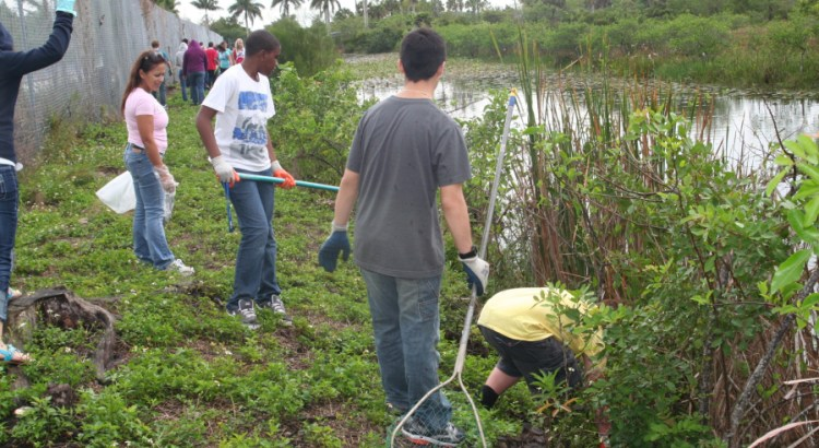 Students Can Acquire Service Hours During Waterway Cleanup