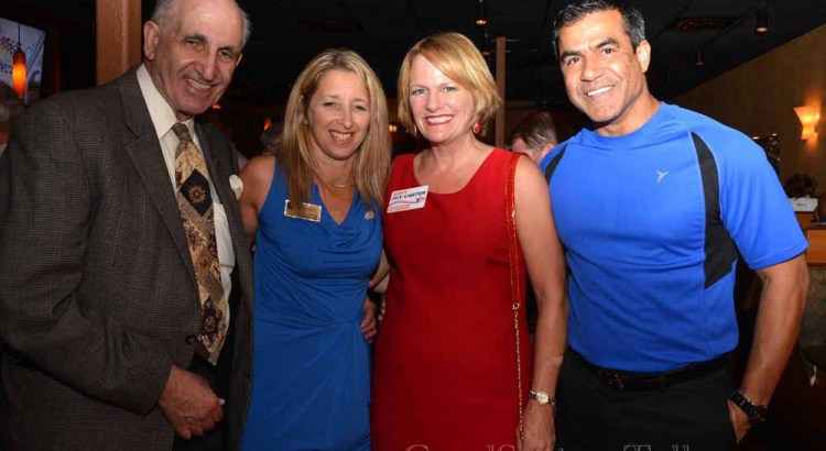 Carter Holds City Commission Campaign Event at Bonefish Grill