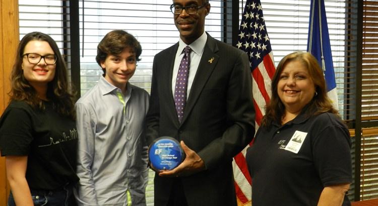 District Receives Global Award for Schools Hosting Exchange Students