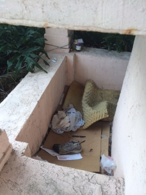 Items including stolen mail discovered from homeless structure in Coral Springs