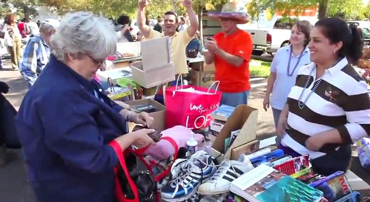 Your Trash is Someone Else's Treasure at the City-Wide Garage Sale