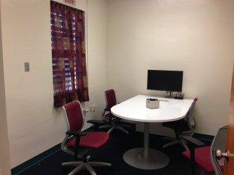 Private conference room in the LEEO Lab