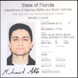 Mohamed Atta Drivers License