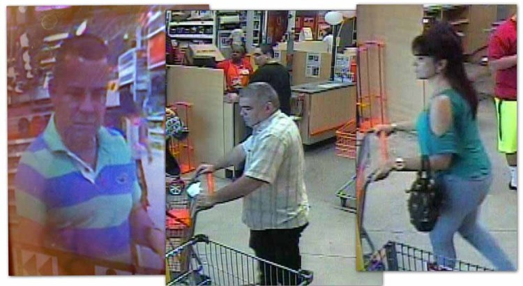 Police Looking for Suspects in Credit Card Ring