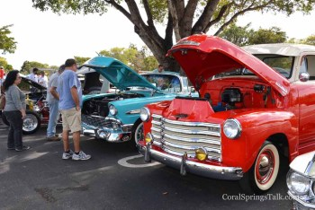 Classic cars were on display at the Family Fun Day and Car Show Event