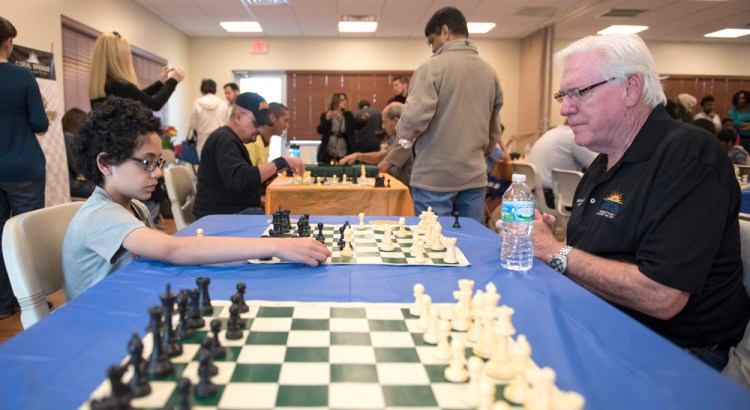 "Coral Springs Kids ""Check"" Out Chess Thanks to New Mayor"