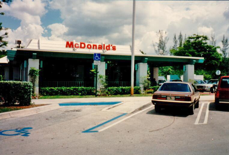 Coral Springs first McDonald's opened January 7th, 1975