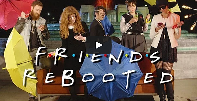"This is What the ""Friends"" TV Show Would Look Like in 2015"
