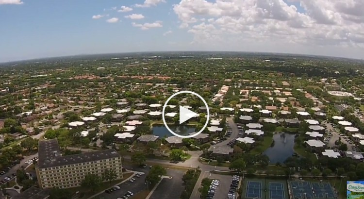 Birds Eye View of Coral Springs From Mullins Park