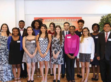 2015 MLK Scholarship Recipients