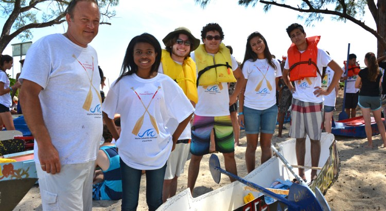 Douglas Students Compete in 2015 Plywood Regatta